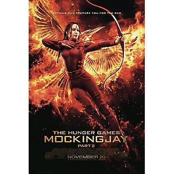 Hunger Games Mockingjay - Bogen-Plakat-Poster-Druck