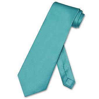 比亚吉奥 100% SILK 领带 超长长实心男人_apos;s XL 颈领带