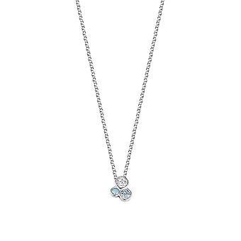 Esprit Damen Kette Collier Silber JW50093 Zirkonia ESNL93193D420
