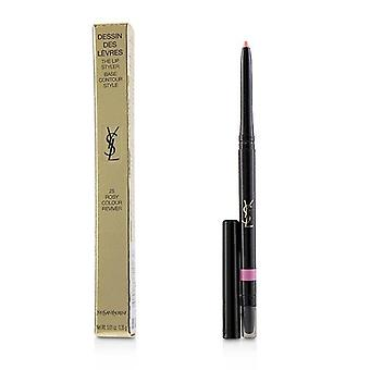 Yves Saint Laurent Dessin Des Levres The Lip Styler - # 25 Rosy Colour Reviver - 0.35g/0.01oz