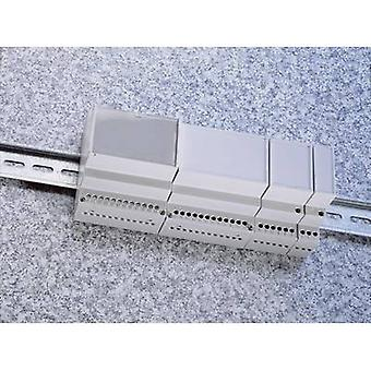 Weltron MR1/C FA RAL7035 ABS DIN rail casing 17.5 x 90 x 68 Acrylonitrile butadiene styrene Grey-white (RAL 7035) 1 pc(s)