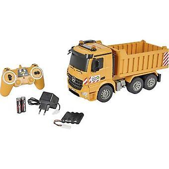 Carson RC Sport Dumper 1:20 RC skalamodell for nybegynnere Heavy-duty kjøretøy inkl. batterier og lader