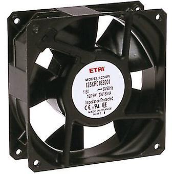 Ecofit 125XR0181000 ventilador Axial 240 V AC 2640 l/min (L x W x H) 119 x 119 x 38,9 mm