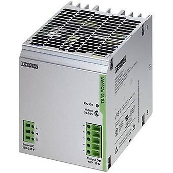 Phoenix contact TRIO-PS/1AC/48DC/10 Rail gemonteerde PSU (DIN) 48 V DC 10 A 480 W 1 x