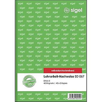 Sigel Payment slip SD067 A5