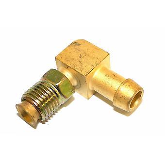 """Grande, um 3-82255 latão 5/16"""" ajustável Thread x 5/16"""" Metal farpado tubo de encaixe"""