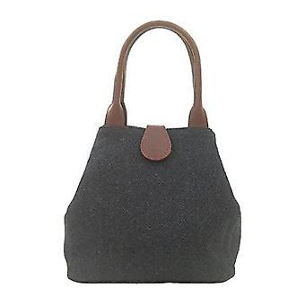 Tartan Handtasche Z (Marine Harris Tweed)