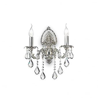 Ideal Lux Impero Twin Wall Light