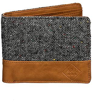 Animal Reckless Faux Leather Wallet in Grey