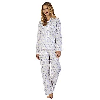 Slenderella PJ2224 naisten maahan Spray kukka Pyjama pyjamat