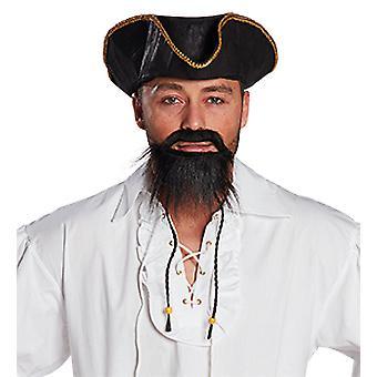 Bart Ying piraat baard-snor accessoire carnaval Halloween piraat