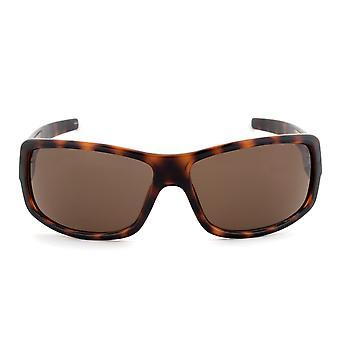 Timberland TB7092 52E téglalap alakú napszemüveg | Teknős barna frame | Barna lencse