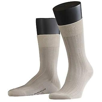 Falke Milano Midcalf sokken - zand
