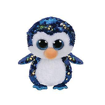 TY Beanie de Penguin lisible Payton Sequin
