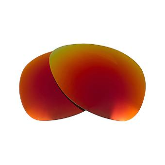 Polarized Replacement Lenses for Oakley Plaintiff Sunglasses Red Anti-Scratch Anti-Glare UV400 by SeekOptics