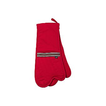 Ladelle Professional Series II Red Double Oven Mitt