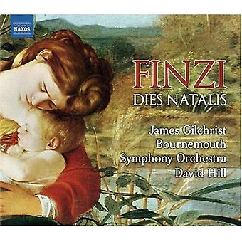 G. Finzi - Gerald Finzi: Dies Natalis; Farewell to Arms; Two Sonnets [CD] USA import