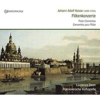 Dean/Hannoversche - Johann Adolf Hasse: Fl Tenkonzerte [CD] USA import