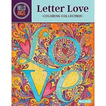 Bonjour Angel lettre amour coloriage Collection Angelea Van Dam - 9781