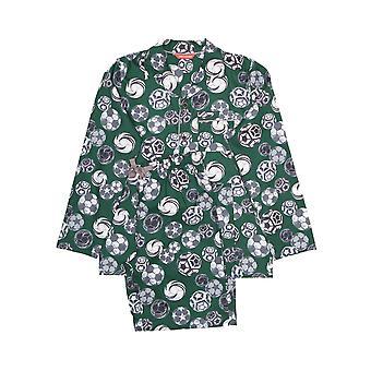 Minijammies 6361 Boy's Alfie Grey Football Print Pyjama Set