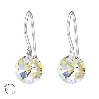 Round Crystal From Swarovski® - 925 Sterling Silver Earrings - W27940x