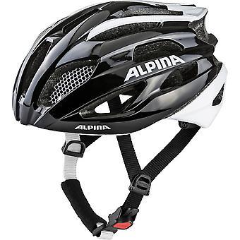 Casque de vélo Alpina Fedaia / / noir/blanc