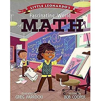 Lilla Leonardos fascinerande världen av Math [styrelse bok]