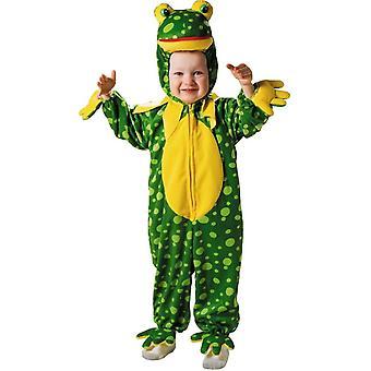 Färgglada groda småbarn dräkt