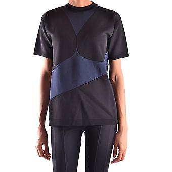 Prada Ezbc021021 Women's Black Viscose T-shirt