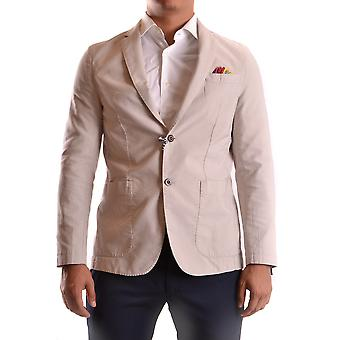 At.p.co Ezbc043001 Men's Beige Cotton Blazer