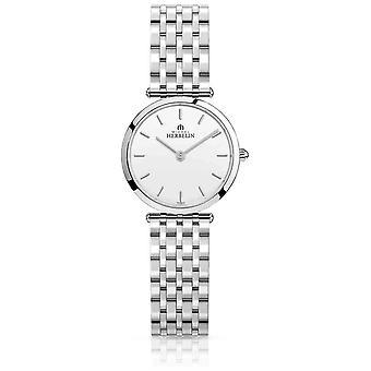 Michel Herbelin | Womens | Epsilon | Stainless Steel Bracelet | White Dial | 17116/B11 Watch
