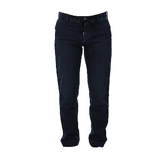 Karl Lagerfeld Klmp0004002 Hommes-apos;s Jeans en coton bleu