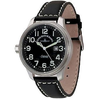 Zeno-watch mens watch OS pilot Lefthander 8554-left-a1