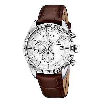 Festina F16760/1 chronograph menns klokke 44 mm