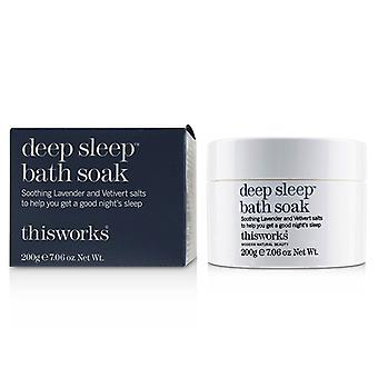 This Works Deep Sleep Bath Soak - 200g/7.06oz