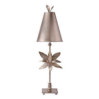 Stead-1 Light Table Lamp-Silver Leaf-FB/AZALEA/TL SV