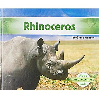 Rhinoceros by Grace Hansen - 9781532104213 Book