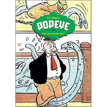Popeye - Volume 3 - Let's You and Him Fight! by E.C. Segar - 9781560979