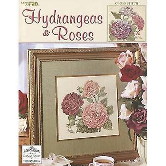 Hydrangeas & Roses - Cross Stitch by Glynda Turley - 9781574869378