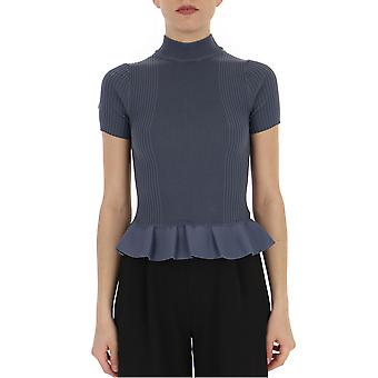 Alexander Wang 1k491075k8zerorayon400 Women's Blue Cotton T-shirt
