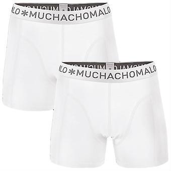 Muchachomalo Basic 2-Pack Boxer Shorts - White