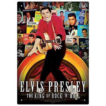 Elvis Albums Tin Sign
