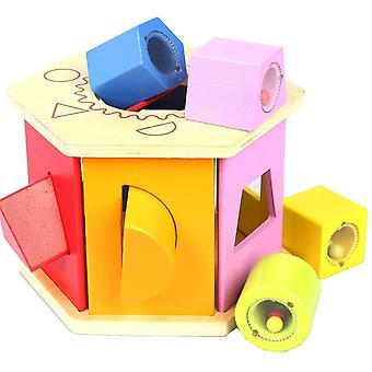 تطابق الشكل فارز لعبة طفل صغير ويهز E0407 الممثل الكوميدي بوب هوب