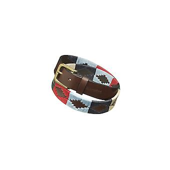 Pampeano Multi Leather Polo Belt Multicolour