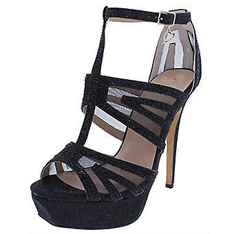 Thalia Sodi Womens Flairr Peep Toe ankel Strap plattform pumpar