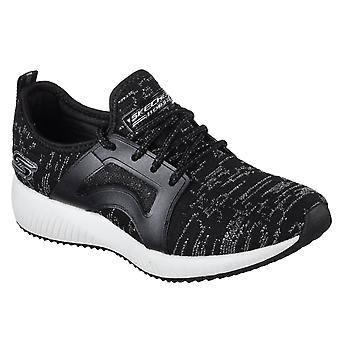 Skechers Womens Bobs Sport Squad Glossy Finish Sports Shoe