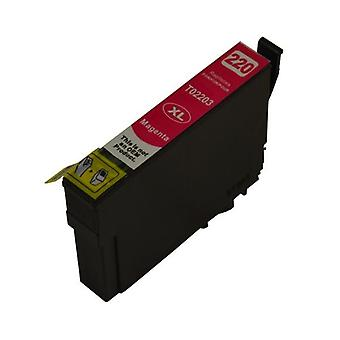220MXL Magenta Premium Compatible Inkjet Cartridge