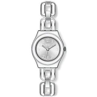Swatch Irony White Chain Quartz Yss254g Women's Watch