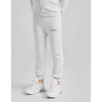 Nuevo McKenzie Boys' Essential Fleece Joggers Grey