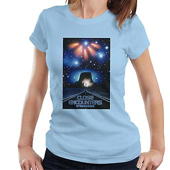 Close Encounters of the Third Kind Mountain Poster Women's T-Shirt